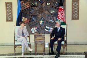 President Kersti Kaljulaid visiidil Afganistani.