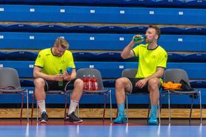 Сборная Эстонии по гандболу готовится к решающим матчам.