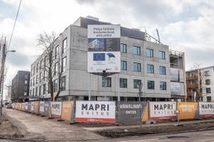 Põhja-Tallinna tervisekeskuse ehitus.