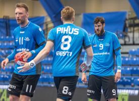 Отборочный матч ЧЕ по гандболу: Эстония - Австрия.