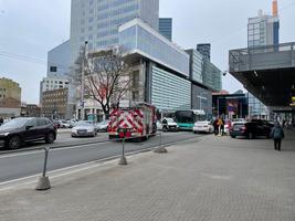 Liiklusõnnetus Tallinna kesklinnas.