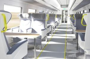 Поезд Rail Baltic.