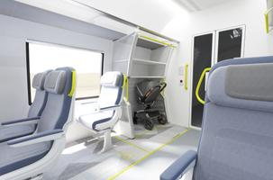How the future Rail Baltic train may look.