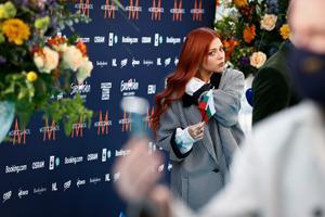 Певица Victoria, Болгария.