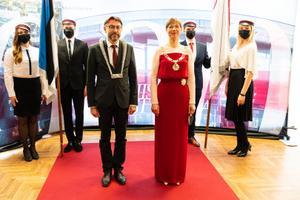 TLÜ rektori inauguratsioon