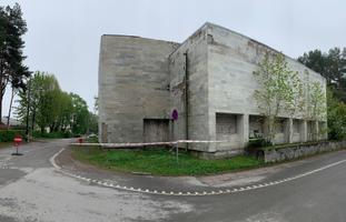 Здание санатория на улице Поска в Нарва-Йыэсуу.