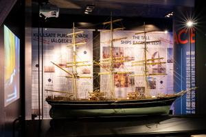 Выставка в Летной гавани.