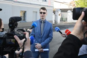 Marti Kuusik in court on May 28.