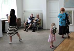 XXVIII выставкахудожественногоакта «Мужчина и женщина - сила и дух эстонской женщины».
