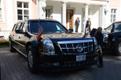 Puhastatakse Obama autot, mida tuntakse ka kui The Beast
