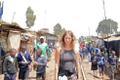Liina Viira Kibera slummis Nairobis