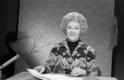 Saatejuht, diktor Ruth Püss. Veebruar 1977