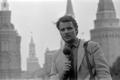 Ajakirjanik Heimar Lenk, ETV Moskva korrespondent, Punane väljak. Mai 1983
