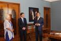 President Toomas Hendrik Ilves allkirjastas Kadriorus uue välisministri ametisse nimetamise otsuse.