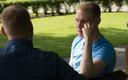 Raimond Kaljulaid möödunud suvel ajakirjanikuga vestlemas.