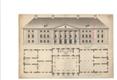 Üks varasemaid peahoone jooniseid, mis valmis pärast Krause tagasipöördumist Tartust oma kodumõisasse Kizbelesse. (4.-8. märts 1803).