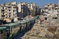 Inimeste evakueerimine Ida-Aleppost.