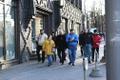 Затем участники акции отправились на улицу Татари.