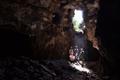 Sissepääs Tõusva Tähe koobastikku.