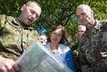 President Kersti Kaljulaid külastas õppust Kevadtorm.