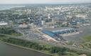 Vaade õhust Tallinna lennujaamale.