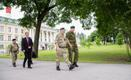 Eestit külastas kaitseväe juhataja kindral Stuart Peach.