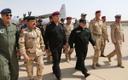 Peaminister Haider al-Abadi saabus Mosulisse pühapäeval.