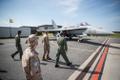 Hispaania kaitseväe juhataja tegi kiirvisiidi Ämari lennubaasi.