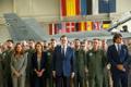Spanish Prime Minister Mariano Rajoy and Prime Minister Jüri Ratas visit Ämari Air Base on Monday. July 17, 2017.