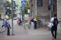 Mike Pence saabub kesklinna. Tallinn.