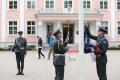 Встреча президентов Эстонии и Франции Керсти Кальюлайд и Эммануэля Макрона в Кадриорге.
