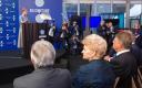 Riigipead ja valitsusjuhid Kersti Kaljulaidi Digital Summiti avakõnet kuulamas.