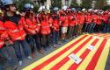 Забастовка в Барселоне, 3 октября.