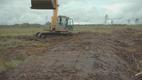 See on kunagine turbakaevandusala väljaveo tee ja Osooni meeskonna eesmärk on jõuda peaaegu kõige kaugemasse taastamisala nurka.