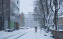 Tallinn saw its first snowfall of 2017 on 26 October.