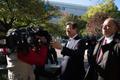Paul Manafort ja tema advokaat kohtuhoone juures.