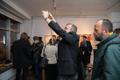 Jaan Elkeni näituse avamine Vabaduse galeriis.