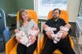 Juulis sündinud nelikud said haiglast välja
