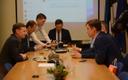 Reformierakonna juhatuse koosolek detsembri alguses.