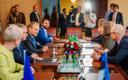 Donald Tusk teeb eesistumise avavisiidi president Kersti Kaljulaidi juurde.
