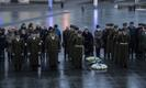 The 1920 ceasefire was commemorated at a ceremony in Tallinn on Wednesday. Jan. 3, 2018.