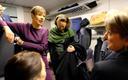 President Kersti Kaljulaid Narva rongis
