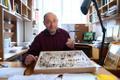 Žürii tunnustus: liblikauurija, Tartu ülikooli entomoloogia professor Toomas Tammaru oma kabinetis.