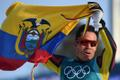Ecuadori suusataja Klaus Jungbluth Rodriguez