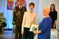 President andis Narvas üle teenetemärgid