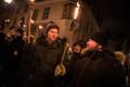 EKRE organized a torchlight procession dedicated to Estonian Independence Day for the fifth year in a row. Feb. 24, 2018.