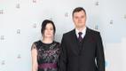 Madis Kallas abikaasaga presidendi vastuvõtul