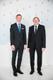 Riigikogu liige Helmut Hallemaa ja poeg Rene.