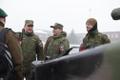 Vene ohvitseride relvastuskontroll Tapa linnakus.