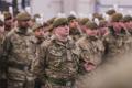 Ühendkuningriigi kaitseminister Gavin Williamson Tapa linnakus 25. märtsil.